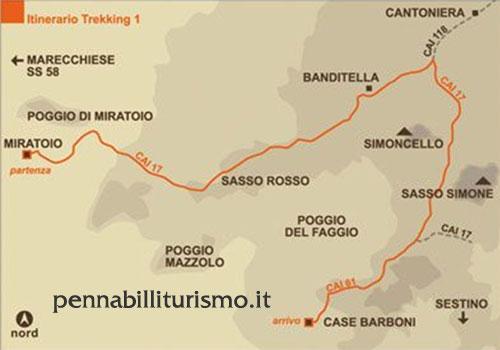 Itinerario 1 Pennabilli
