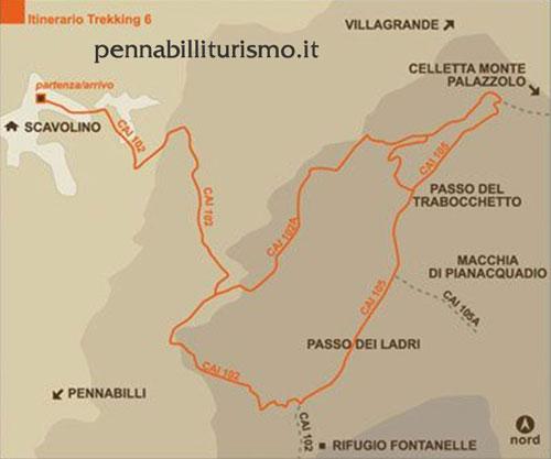 Itinerario 2 Pennabilli