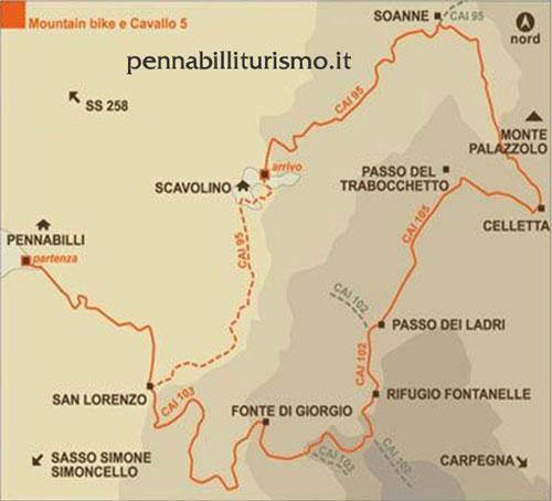 Itinerario 3 Pennabilli